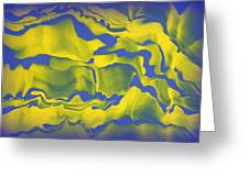 Abstract 106 Greeting Card by J D Owen
