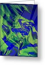 Abstract 32 Greeting Card by J D Owen