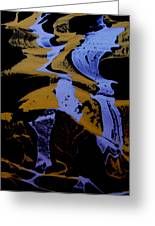 Abstract 37 Greeting Card by J D Owen