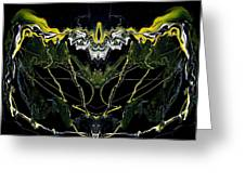 Abstract 42 Greeting Card by J D Owen