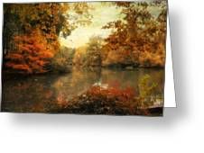 Autumn Afternoon  Greeting Card by Jessica Jenney