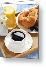 Breakfast  Greeting Card by Elena Elisseeva