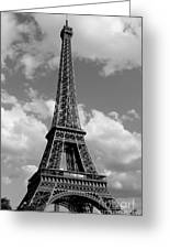 Eiffel Tower Greeting Card by Ivete Basso
