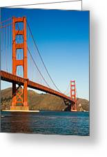 Golden Gate Bridge Greeting Card by Darren Patterson