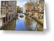 Utrecht Greeting Card by Joana Kruse
