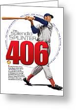 406 Greeting Card by Ron Regalado