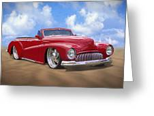 48 Buick Convertible Greeting Card by Mike McGlothlen