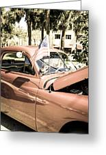 49 Plymouth Greeting Card by Chris Smith