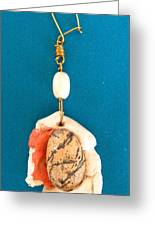 Aphrodite Earring Greeting Card by Augusta Stylianou