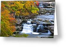 Berea Falls Greeting Card by Frozen in Time Fine Art Photography