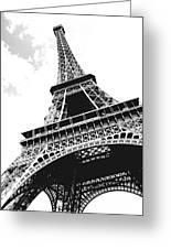 Eiffel Tower Greeting Card by Elena Elisseeva
