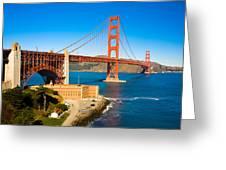 Golden Gate Bridge Greeting Card by Darren Patterson