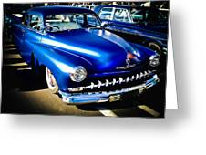 52 Ford Mercury Greeting Card by Phil 'motography' Clark