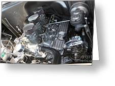 55 Bel Air Engine-8202 Greeting Card by Gary Gingrich Galleries