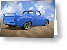 56 Studebaker Truck Greeting Card by Mike McGlothlen