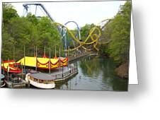 Busch Gardens - 12122 Greeting Card by DC Photographer