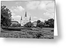 St. Louis Cathedral Greeting Card by Scott Pellegrin