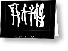 Subservient White Greeting Card by Sir Josef  Putsche