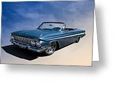'61 Impala Greeting Card by Douglas Pittman