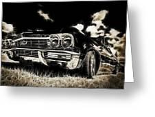 65 Chev Impala Greeting Card by motography aka Phil Clark