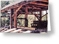676 Sl Sutters Mill 4 Greeting Card by Chris Berry