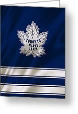Toronto Maple Leafs Greeting Card by Joe Hamilton
