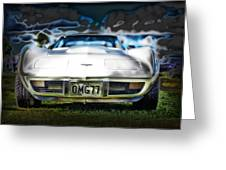 77 Corvette Greeting Card by Mountain Dreams