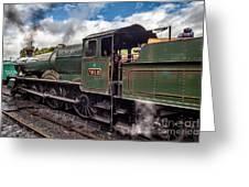 7812 Erlestoke Manor Greeting Card by Adrian Evans