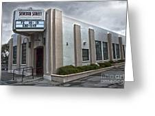 7th Street Theatre - Chino Ca Greeting Card by Gregory Dyer