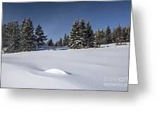 Beautiful Winter Landscape Greeting Card by IB Photo