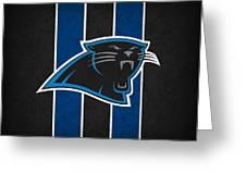 Carolina Panthers Greeting Card by Joe Hamilton