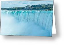 Niagara Falls Greeting Card by Marek Poplawski