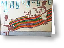 Kintu And Nambi Greeting Card by Gloria Ssali