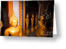 Wat Chalong Buddhist Temple Greeting Card by Jan Mika