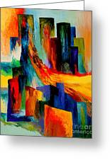 911 Revisited Greeting Card by Larry Martin