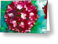 A Beautiful Rhododendron Greeting Card by Annie Zeno