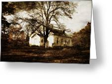 A Country Church Greeting Card by Cynthia Lassiter
