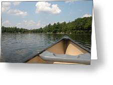 A Day At The Lake Greeting Card by Marijo Fasano