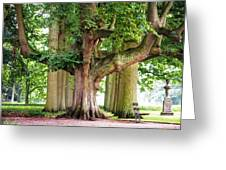 A Day Without You. Park Of The De Haar Castle Greeting Card by Jenny Rainbow