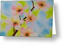 A Dream Of Spring Greeting Card by Carol Avants