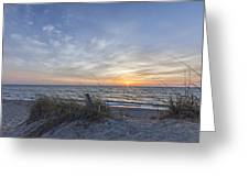 A Glass Of Sunrise Greeting Card by Jon Glaser