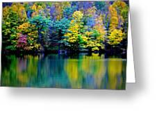 A Glorious Autumn Greeting Card by Jon Van Gilder