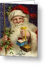 A Joyful Christmas Greeting Card by English School
