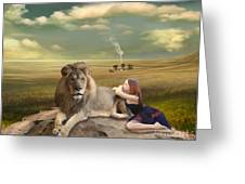 A Magnificent Friendship Greeting Card by Linda Lees