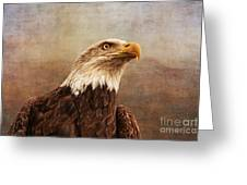 A Majestic Creature Greeting Card by Cindy Tiefenbrunn