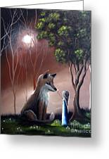 A Midnight Moment By Shawna Erback Greeting Card by Shawna Erback