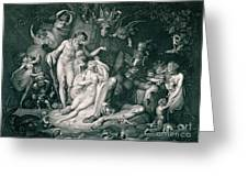 A Midsummer Nights Dream Greeting Card by Henry Fuseli