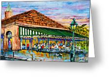 A Morning At Cafe Du Monde Greeting Card by Dianne Parks