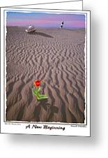 A New Beginning Greeting Card by Mike McGlothlen