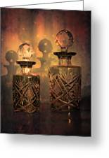 A Play Of Light At Dusk Greeting Card by Loriental Photography